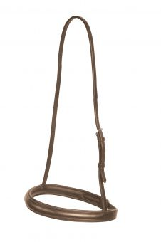 Collegiate Cavesson Noseband Brown