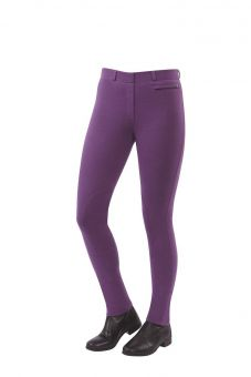 Dublin Momentum Supa-Fit Pull On Knee Patch Jodhpurs Berry