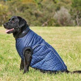 Weatherbeeta Puffer Dog Coat-Navy-35cm Clearance - WeatherBeeta