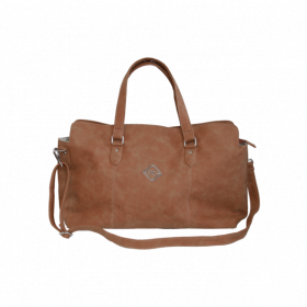 Grooming Deluxe Chestnut Travel Bag Brown Large