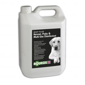 Aqueos Canine Ready to Use Disinfectant - 5 litre