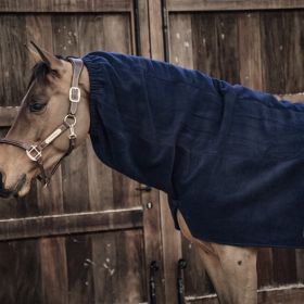 Kentucky Heavy Fleece Horse Scarf - Navy