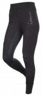 LeMieux Activewear Pull On Seamless Breech - Black
