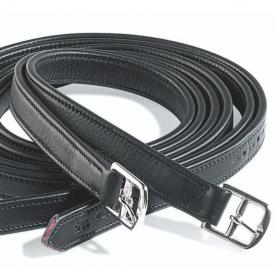 Amerigo Stirrup Leathers Calfskin Black