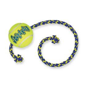 KONG SqueakAir® Balls with Rope - Kong