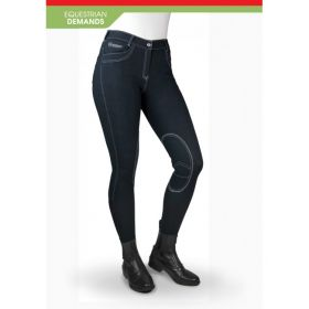 John Whitaker Rawdon Denim Effect Breeches