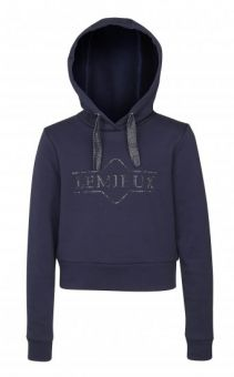 LeMieux Young Rider Cropped Hoodie - Navy