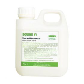 Barrier Equine V1 Virucidal Disinfectant 1ltr