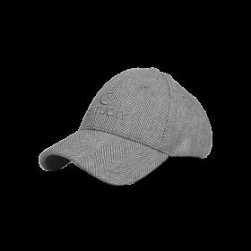 Kentucky Wool Baseball Cap - Grey