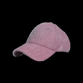 Kentucky Wool Baseball Cap - Light Pink
