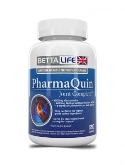 BettaLife PharmaQuin Joint CompleteHA For You 120 Tablets