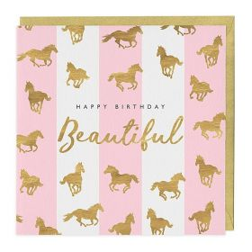 The Pink Selection Happy Birthday Beautiful Card
