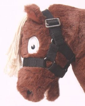 Crafty Ponies Headcollar and Instruction Booklet Black