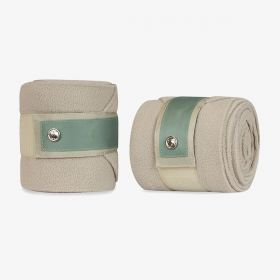 PS of Sweden Bow Fleece Polo Bandages Thyme - Clearance - PS of Sweden