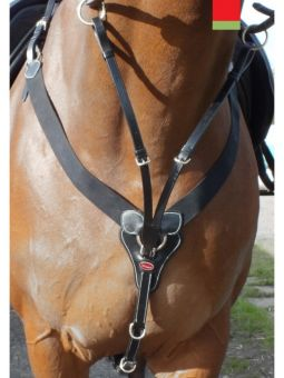 John Whitaker BP048V elasticated V-Check Breastplate