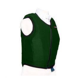 Racesafe Body Protector Cover - Dark Green