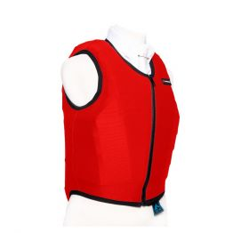 Racesafe Body Protector Cover - Red