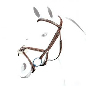 Equipe Grackle Bridle with Clinchered Browband BR37