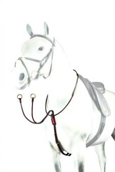 Equipe Patent Rolled Running Martingale BP17