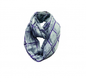 Equetech Bridles Checked Infinity Scarf