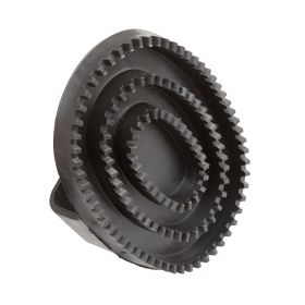Bitz Large Rubber Curry Comb