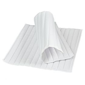 Bitz Quilted Leg Pads White