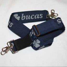 Bucas Internal Surcingle Set - Pair  Navy - Silver