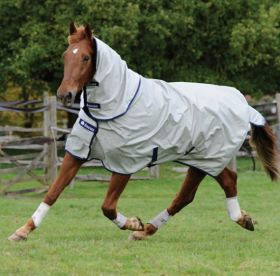Bucas Power Turnout Rug Combi Neck
