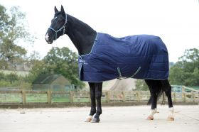 Bucas Quilt 300 Stay Dry Rug - 5'6 - EU 125 - Navy - Clearance
