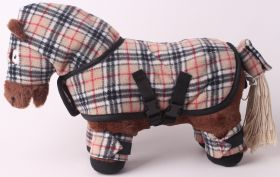 Crafty Ponies Snuggle rug set and instruction booklet Burberry