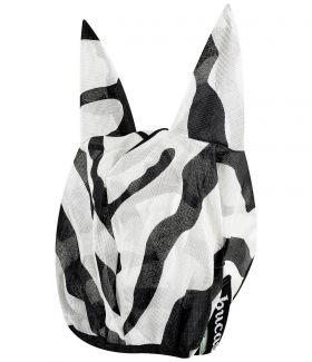 Bucas Buzz Off Zebra Fly Mask XS - - Clearance