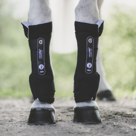 Kentucky Magnetic Stable boots Recuptex black
