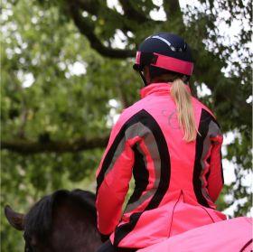 Equisafety Charlotte Dujardin Cadence Reflective Riding Jacket - Pink