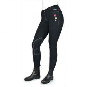John Whitaker Kids Calder Breeches  Black