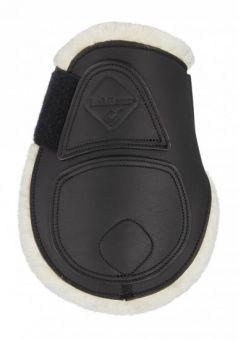 LeMieux Capella Comfort Leather Fetlock Boots  Black