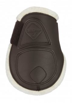 LeMieux Capella Comfort Leather Fetlock Boots  Brown