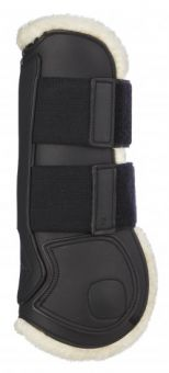 LeMieux Capella Leather Comfort Tendon Boots  Black