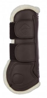 LeMieux Capella Leather Comfort Tendon Boots  Brown