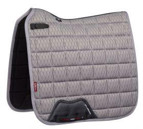 LeMieux Carbon Mesh Dressage Square - Light Grey