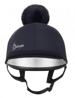 LeMieux Young Rider Hat Silk - Indigo