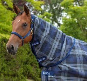 Bucas Celtic Stable Combi Neck 300g Tartan Grey
