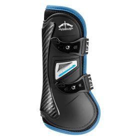 Veredus Colour Edition Carbon Gel Vento Front Tendon Boots - Black Blue