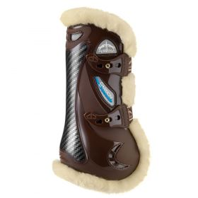 Veredus Carbon Gel Vento Save the Sheep Tendon Boots  Brown