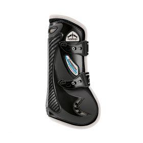 Veredus Colour Edition Carbon Gel Vento Front Tendon Boots - Black Ivory