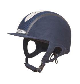 Champion Evolution Puissance Riding Hat-Navy-55cm - 1 - 6 3/4 Clearance - Champion