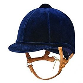Charles Owen Fian Riding Hat -Navy-50cm - 000.5 - 6 1/8 Clearance