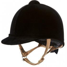 Charles Owen Fian Riding Hat - Black - 52cm - 00.5 - 6 3/8 Clearance - Charles Owen
