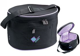 Charles Owen Helmet Bag Black Purple