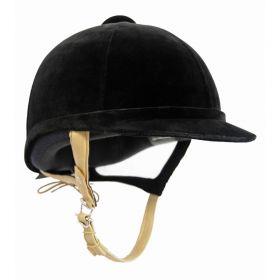 Charles Owen Showjumper XP Riding Hat Childs Sizes 49-55cm Black