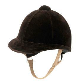 Charles Owen Showjumper XP Riding Hat Childs Sizes 49-55cm Brown